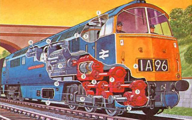 Diesel Traction Group - D1015 Western Champion, Western